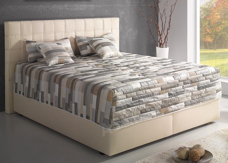 postel boxspring levit 180x200 cm asko n bytek. Black Bedroom Furniture Sets. Home Design Ideas