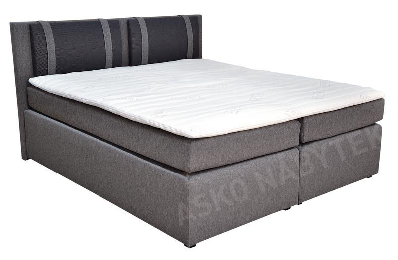 postel boxspring nairobi 3 180x200 asko n bytek. Black Bedroom Furniture Sets. Home Design Ideas