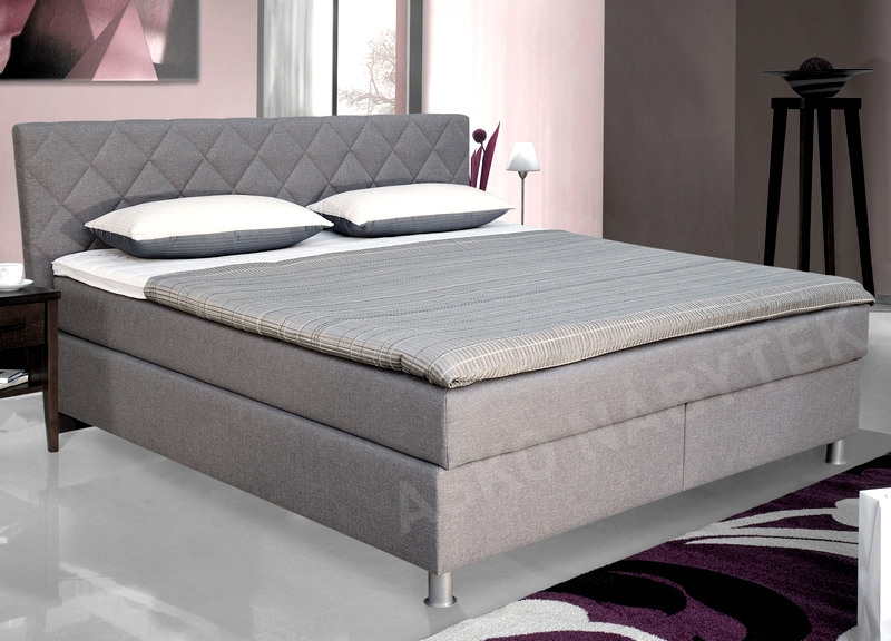 postel boxspring epoque 180x200 asko n bytek. Black Bedroom Furniture Sets. Home Design Ideas
