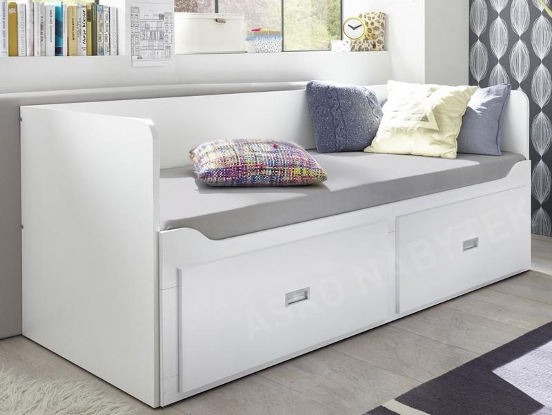 e5da76328683 Rozkládací postel se zásuvkami Bergen 80x200 cm ...