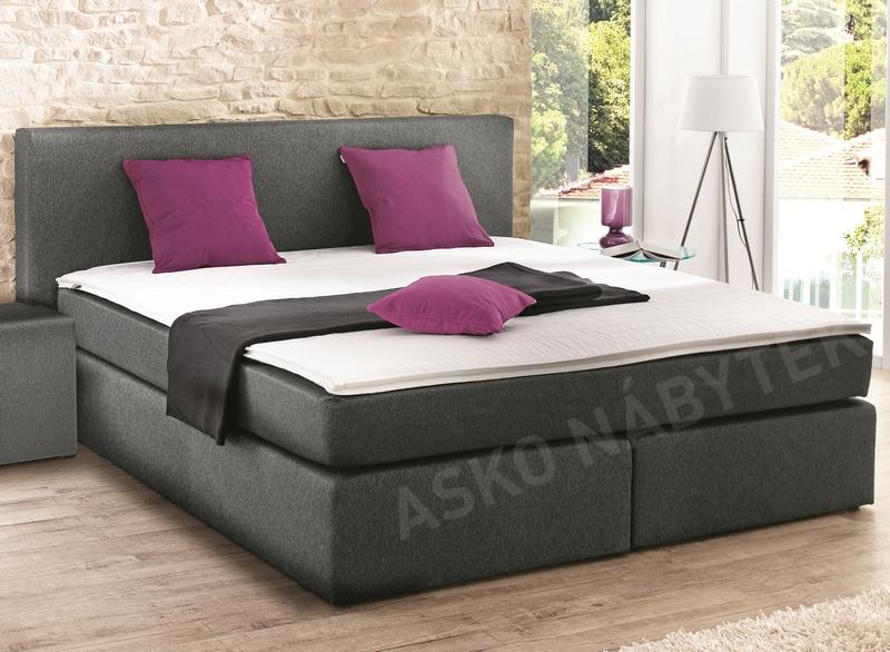 postel boxspring bx420 180x200 asko n bytek. Black Bedroom Furniture Sets. Home Design Ideas