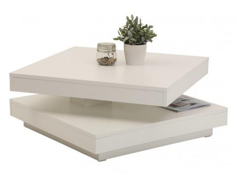 Levně Konferenční stolek Ben, bílý