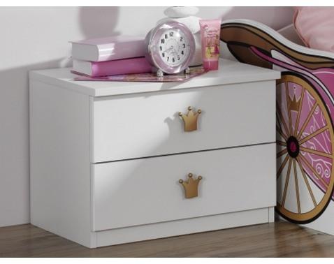 Nocní stolek, 2 zásuvky š/v/h: 50x38x38 cm
