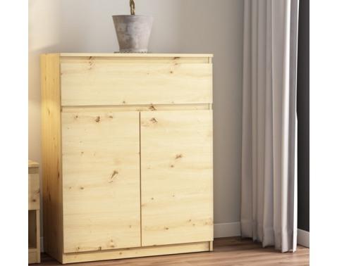 Skříňka se šuplíkem Carlos, dub artisan, 80 cm