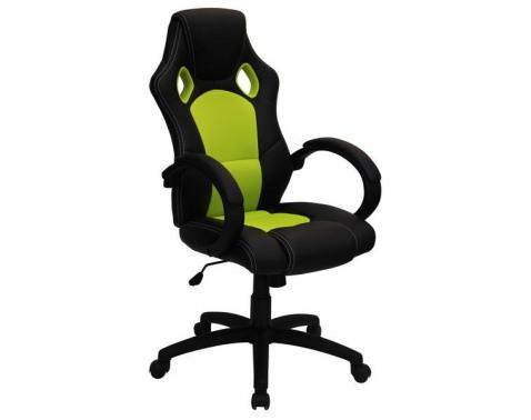 Kancelárská židle na koleckách š/v/h: ca. 61x108-118x67,5 cm