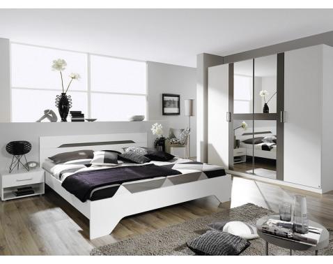 Ložnice Postel, skrín, 2x noc. stolek
