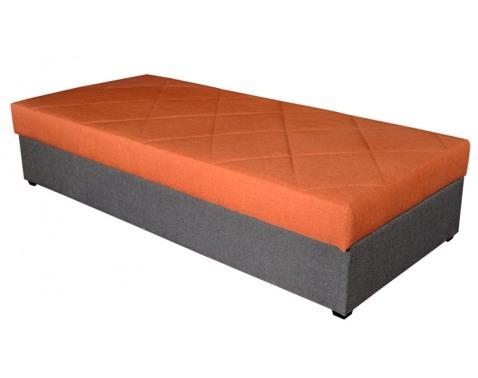 Válenda s úložným prostorem, š/v/h: cca. 88x46x202 cm (90x200cm)