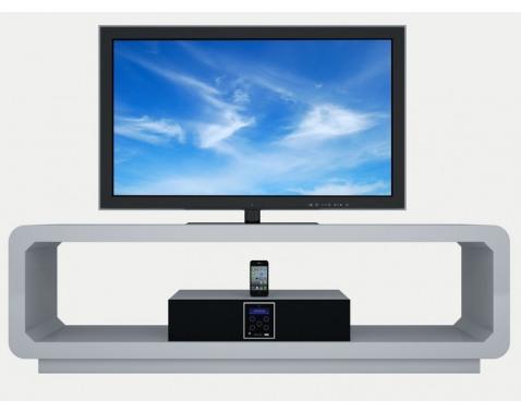 TV-stolek s reproduktory š/v/h: 150x45x39 cm
