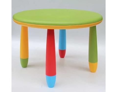 Detský stolek prumer 70 cm, výška 47 cm