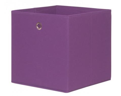 Levně Úložný box Alfa, fialová