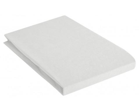 Levně Napínací prostěradlo 200x200 cm, bílé, bavlna