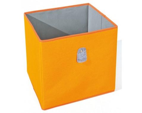 Levně Úložný box Widdy, oranžový