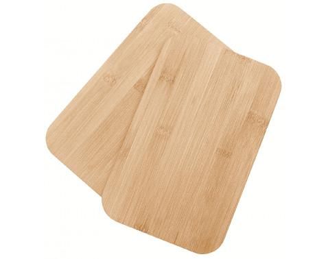 Levně Kuchyňská prkénka (2 ks) Bambus 22x14 cm