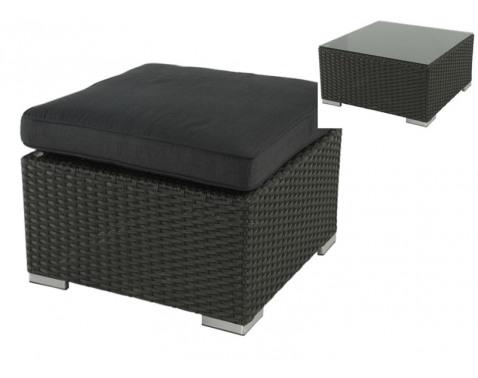 Zahradní stolek / podnožka š/v/h: 66x44x66 cm