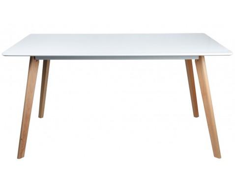 Levně Jídelní stůl Larsson 150x90 cm, bílý