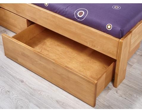 Levně Úložná zásuvka pod postel Masano, olše