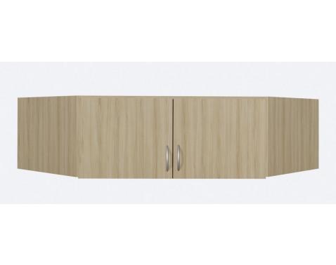 Nástavec rohové skríne, 2 dvere, š/v/h: 120x39x54 cm