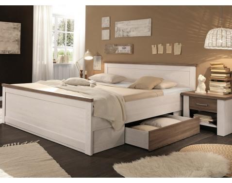 Dvoulužko vcetne nocního stolku rozmer lužka 180x200 cm