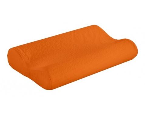 Ortopedický polštárek-oranžová š/v/h: cca. 40x8x25 cm