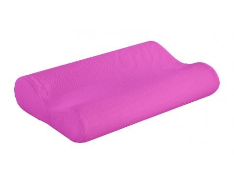 Ortopedický polštárek-fialová š/v/h: cca. 40x8x25 cm