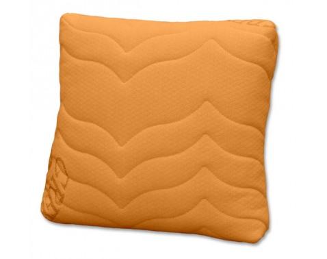 Ortopedický polštárek-oranžová š/v/h: cca. 37x14x37cm