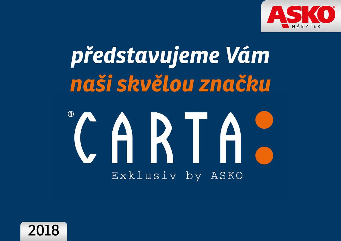 Katalog Asko Nábytek Carta