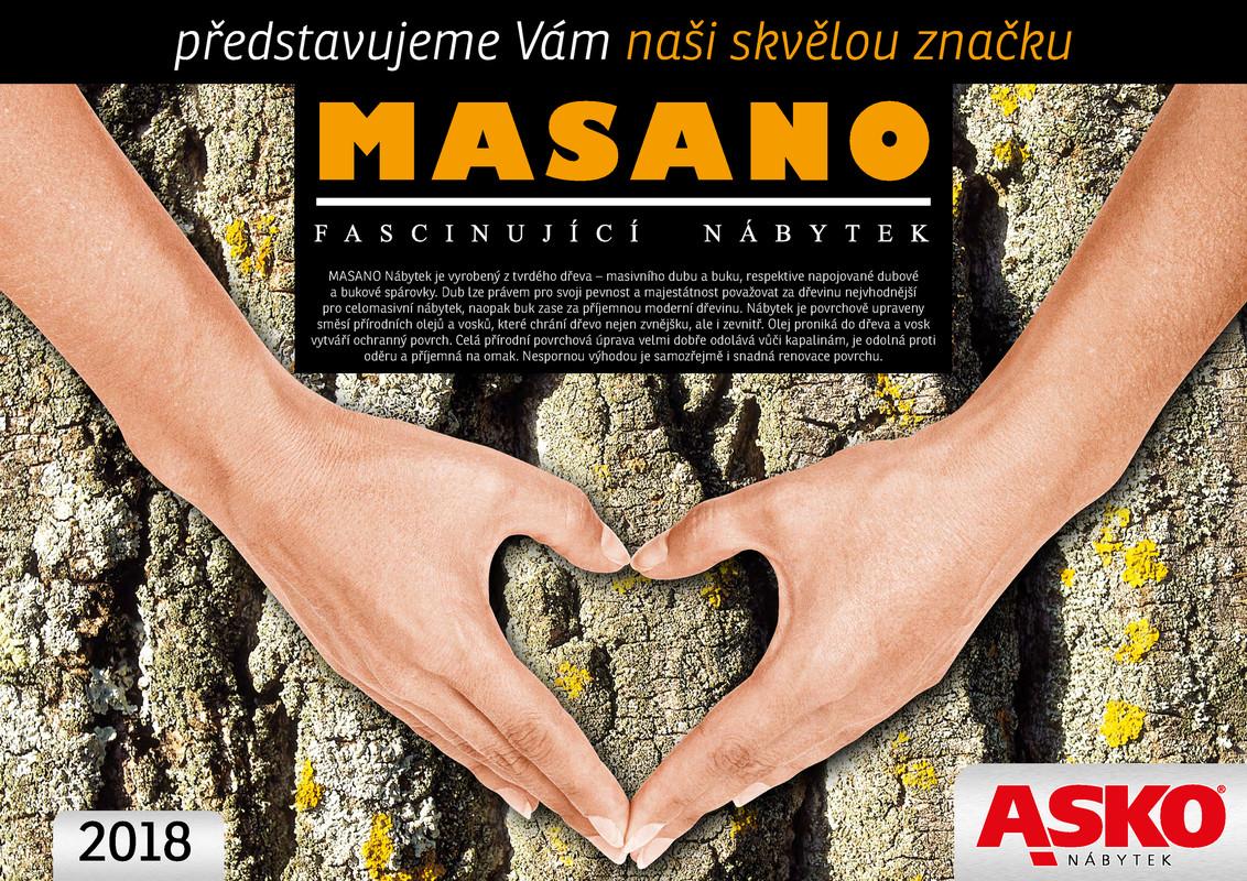 Katalog produktů Masano