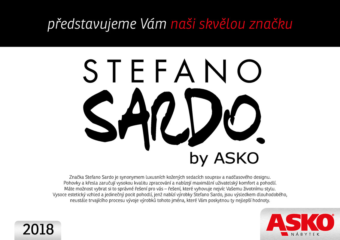 ASKO - NÁBYTEK Katalog Stefano Sardo