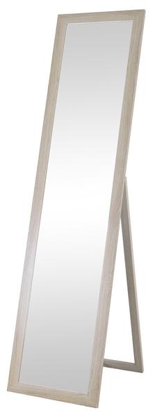 Stojací zrcadlo Emilia-dub, 40x160 cm