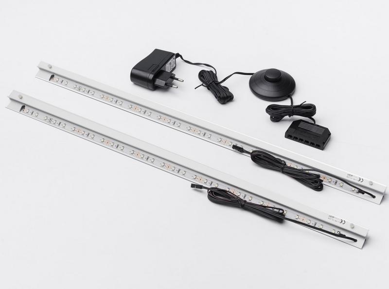 Sada LED osvětlení polic (2 ks) TYP 141