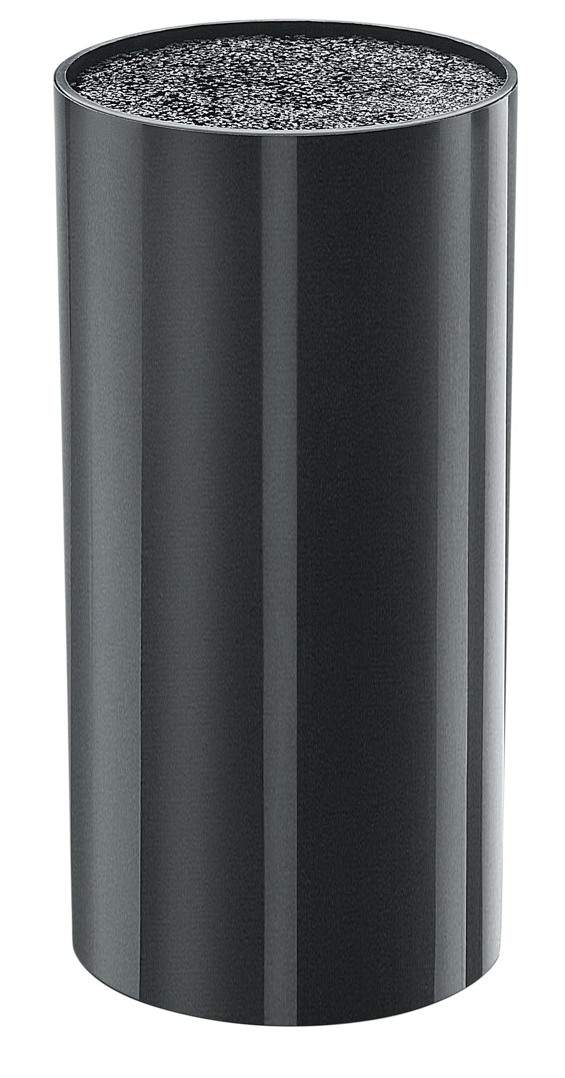 Stojan na nože Pearl Design 11,5 cm, černý