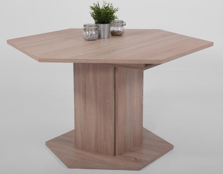 Jídelní stůl Martina, 121x121 cm, rozkládací