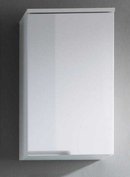 Koupelnová závěsná skříňka Spice, lesklá bílá