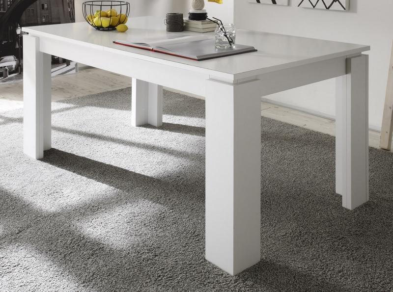 Jídelní stůl Universal 160x90 cm, bílý