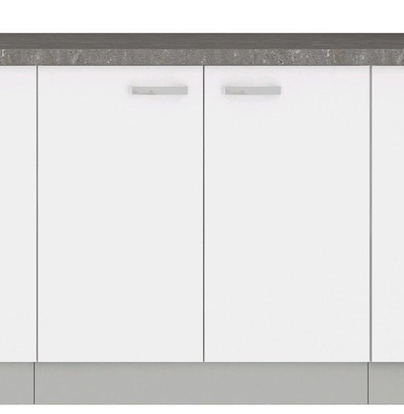 Dolní kuchyňská skříňka Bianka 80D, 80 cm