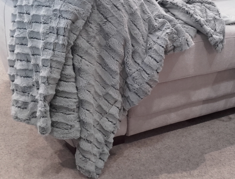 Deka FOX 140x200 cm, šedá