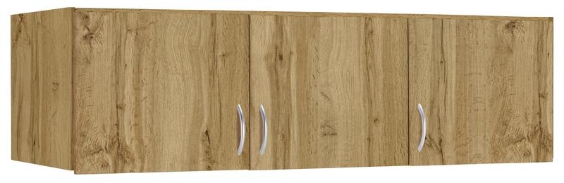 Skříňový nástavec Case, 136 cm, dub wotan