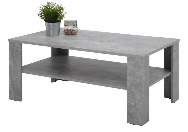 Konferenční stolek Luca, šedý beton