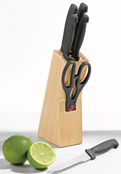 Sada nožů ve stojanu TYP 150.018696