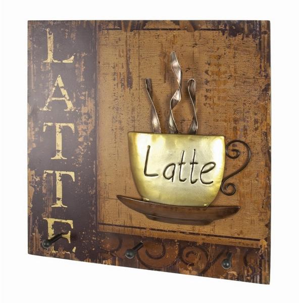 Nástěnný panel s věšáky Latté 89938