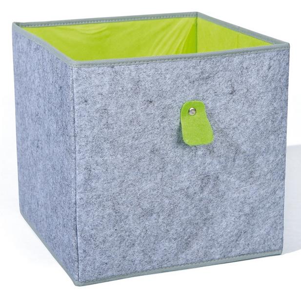 Úložný box Widdy, šedý