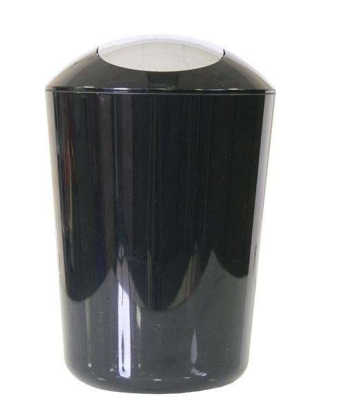 Odpadkový koš (5 l) Axentia 251081, černý